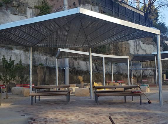 Harold Park Shelters