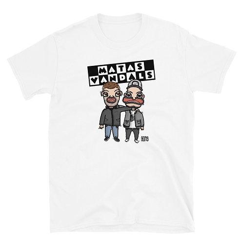 """Camiseta Unisex MatasVandals """"Cartoons"""""""