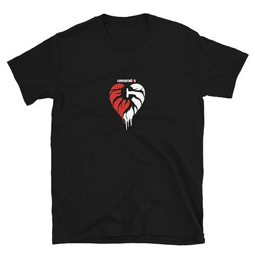 "Camiseta Unisex Censurados ""Corazón"""