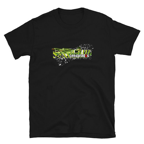 "Camiseta Unisex Censurados ""Avión"""