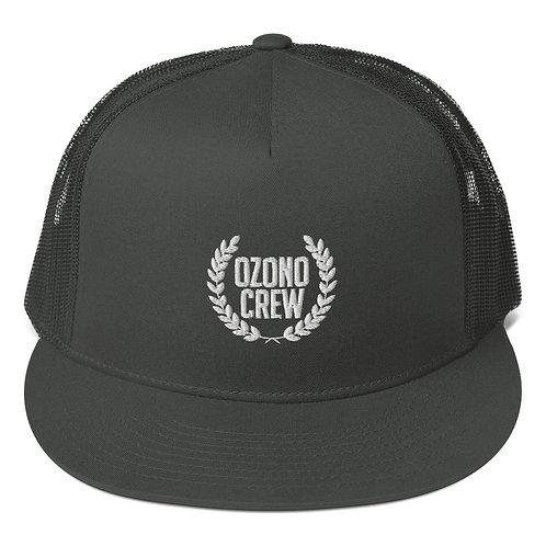 "Gorra de Rejilla Ozono crew ""Logo"""