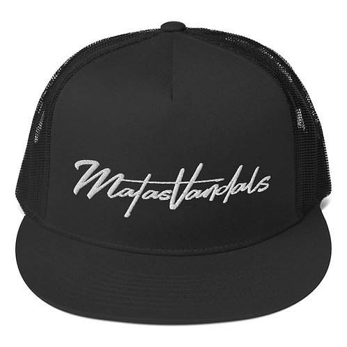 Gorra plana con rejilla MATASVANDALS Logo