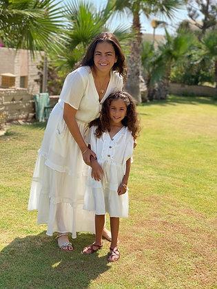 Janna Cream Dress