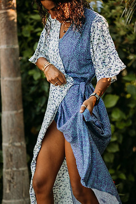 Fayoumi Yin Yang Wrap Dress