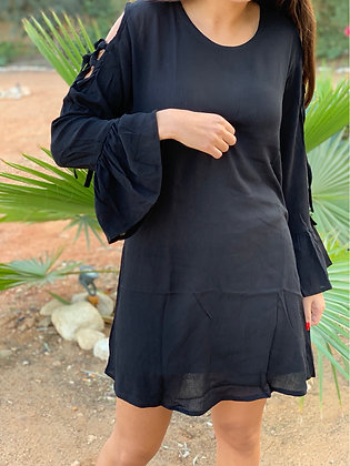 Made for Fall Dress in Black
