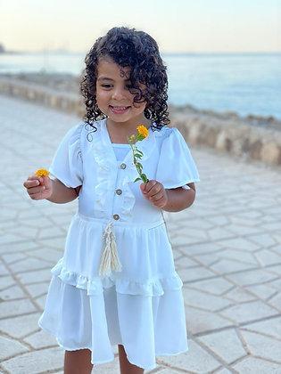 Mini Janna Cream Dress