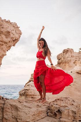 Spell On Me Red Skirt