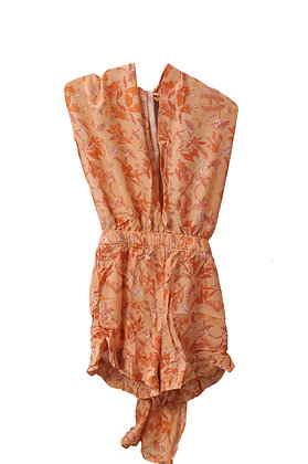 Romper in Peach Tezrin