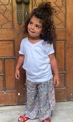 Mini Layla Everyday Pants in Turquoise
