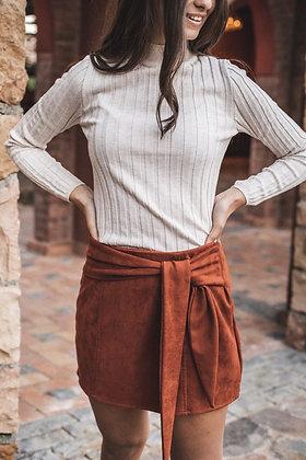 Golden Hour Mini Skirt