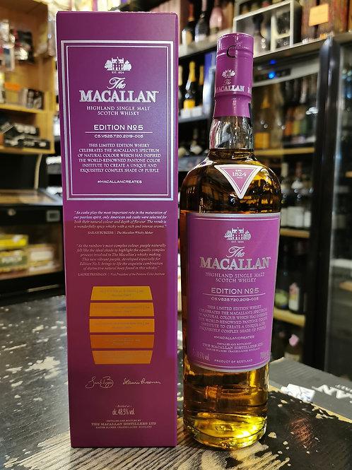 Macallan Edition no. 麥卡倫年度限量版 700ml