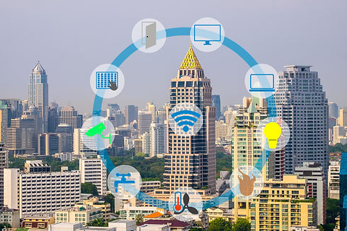 Smart Building and Internet of Things co