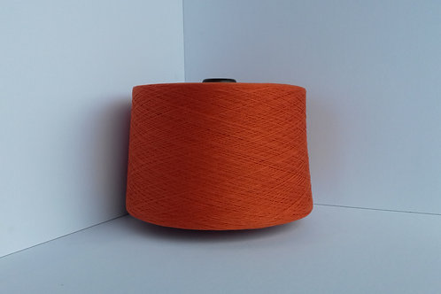 Burnt Orange 141 - Combed Cotton Yarn - NE 16/2 - 1.65kg