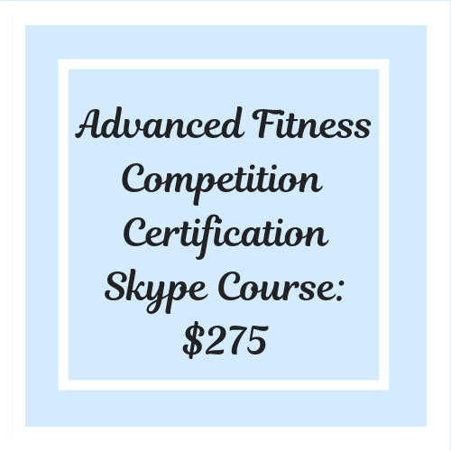 Competition Certification Course - Skype