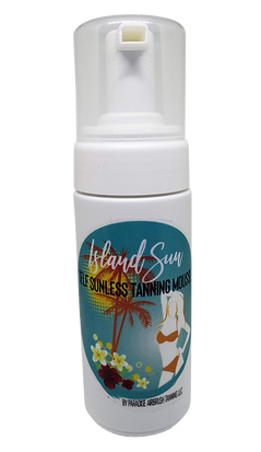 Island Sun Tanning Mousse
