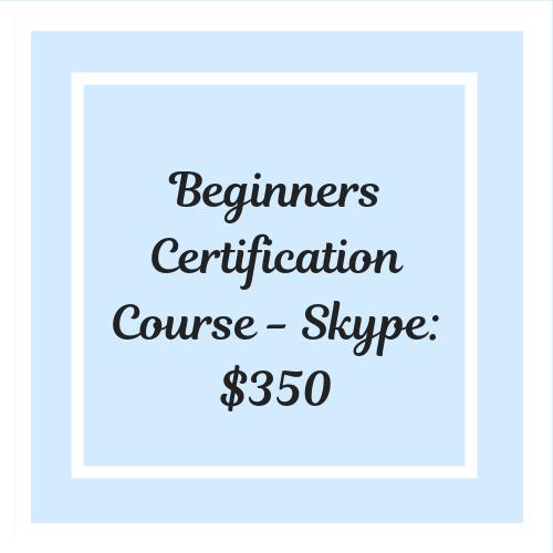 Basic Spray Tan Training Certification Course - Skype