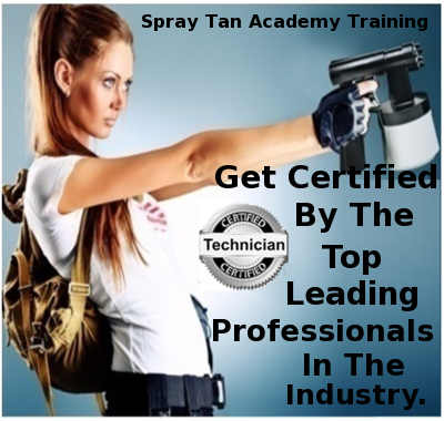 Beginners Spray Tan One-on One Certification Course At Your Location No. Cali.