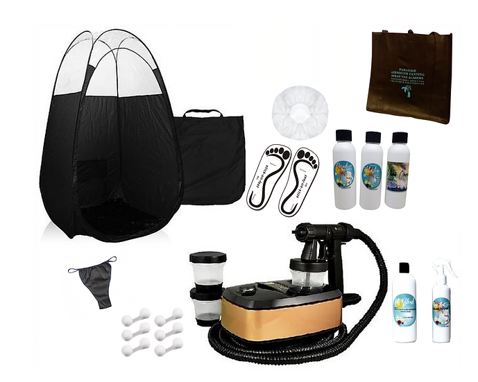 Aura Allure Spray Tan Starter Kit & Private In-Person Training