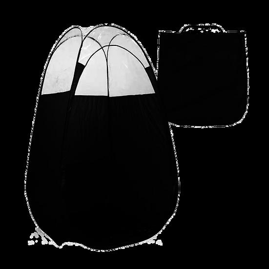 XL Black Pop Up Spray Tanning Tent