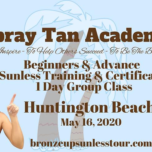 Bronze Up Sunless Tour - Spray Tan Training - Beginners & Advance Course