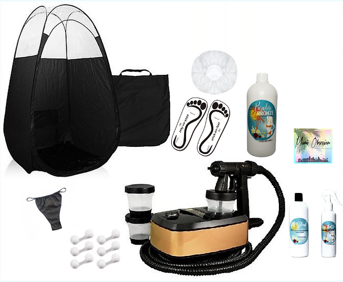 Aura Allure Spray Tan Starter Kit & Private In-Person Training