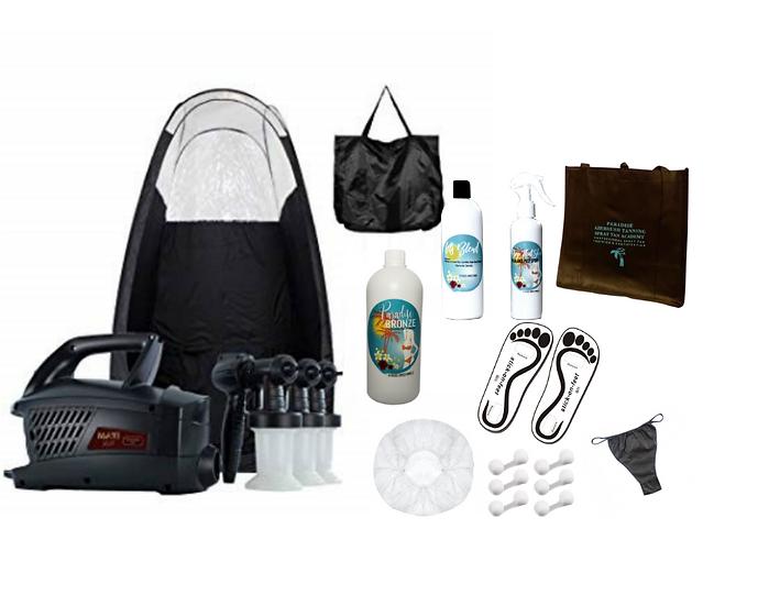 MaxiMist Evolution TNT Spray Tan Starter Kit & Private In-Person Training