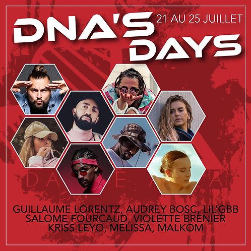 DNA'S DAYS - Full Pass (adhérent)