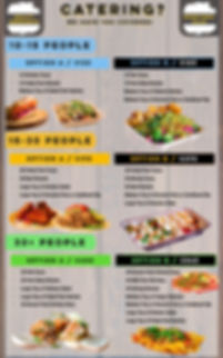 Southeast Sandwich | Catering Menu