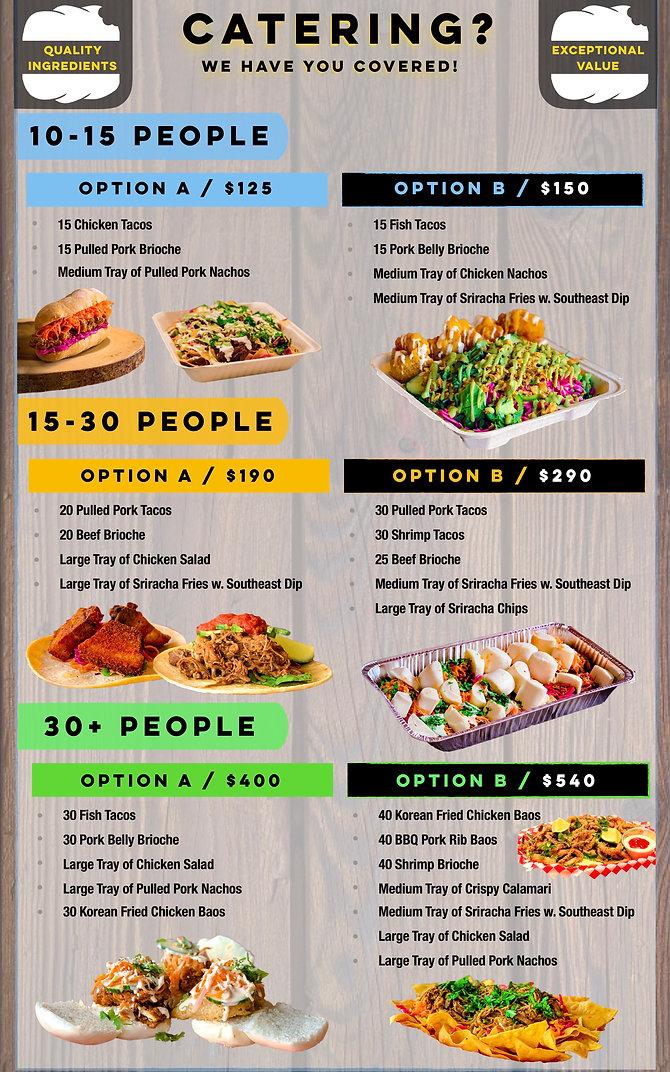 Southeast Sandwich | Catering Menu