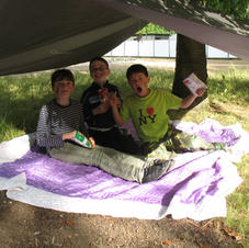 Making shelters with tarps