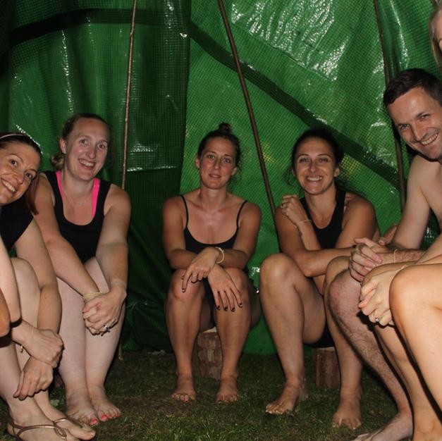 Make an outdoor sauna