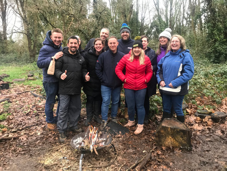 Why to convince your team to try a team building day with London Bushcraft