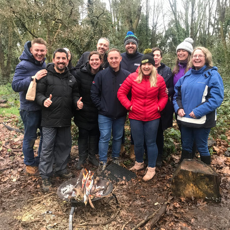 How to convince your team to try a team building day with London Bushcraft?