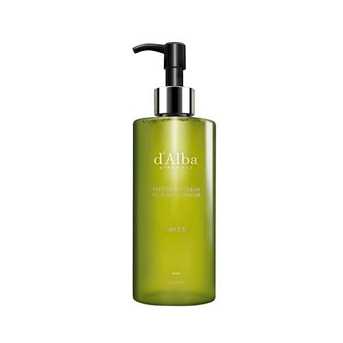 d'Alba - Peptide No-Sebum Mild gel Cleanser 150ml