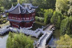 Chinese teahouse - Pairi Daiza