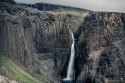 Hike to the Hengifoss waterfall, Iceland