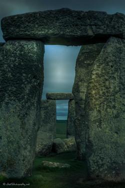 Road through the Stone Circle