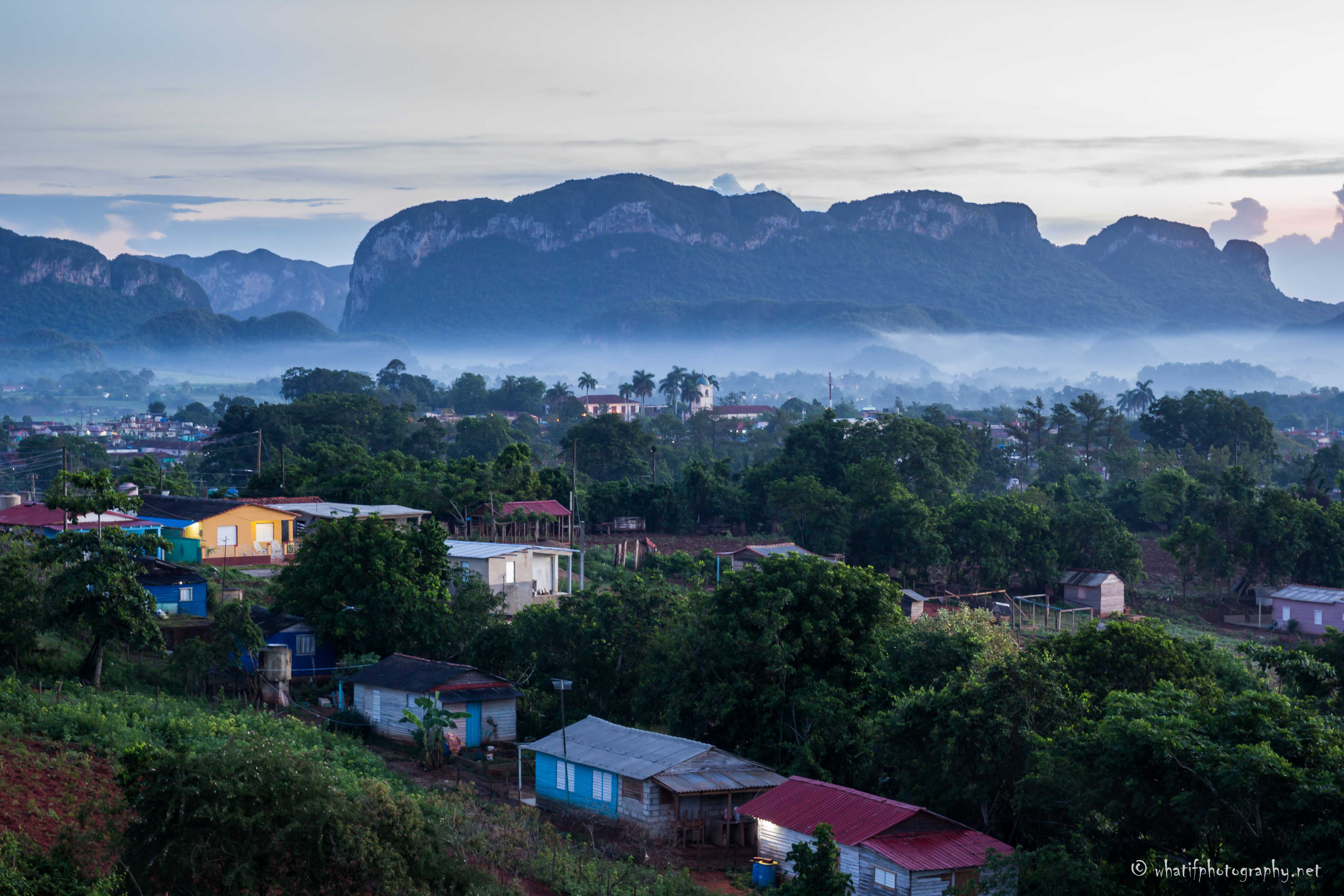 Early morning in Vinales