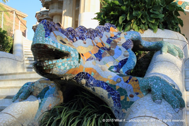 Gaudi's famous lizard