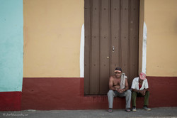 Waiting in colourful Cuba