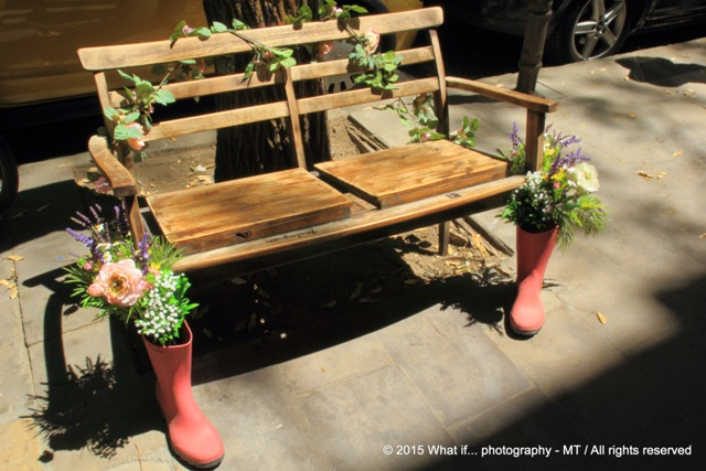 Booted bench