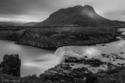 Trollkonuhlaup waterfall, Iceland