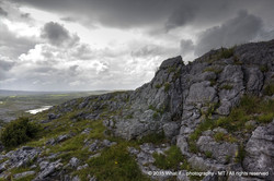 King of the hill, Mullaghmore mountain – Burren national park (Ireland)