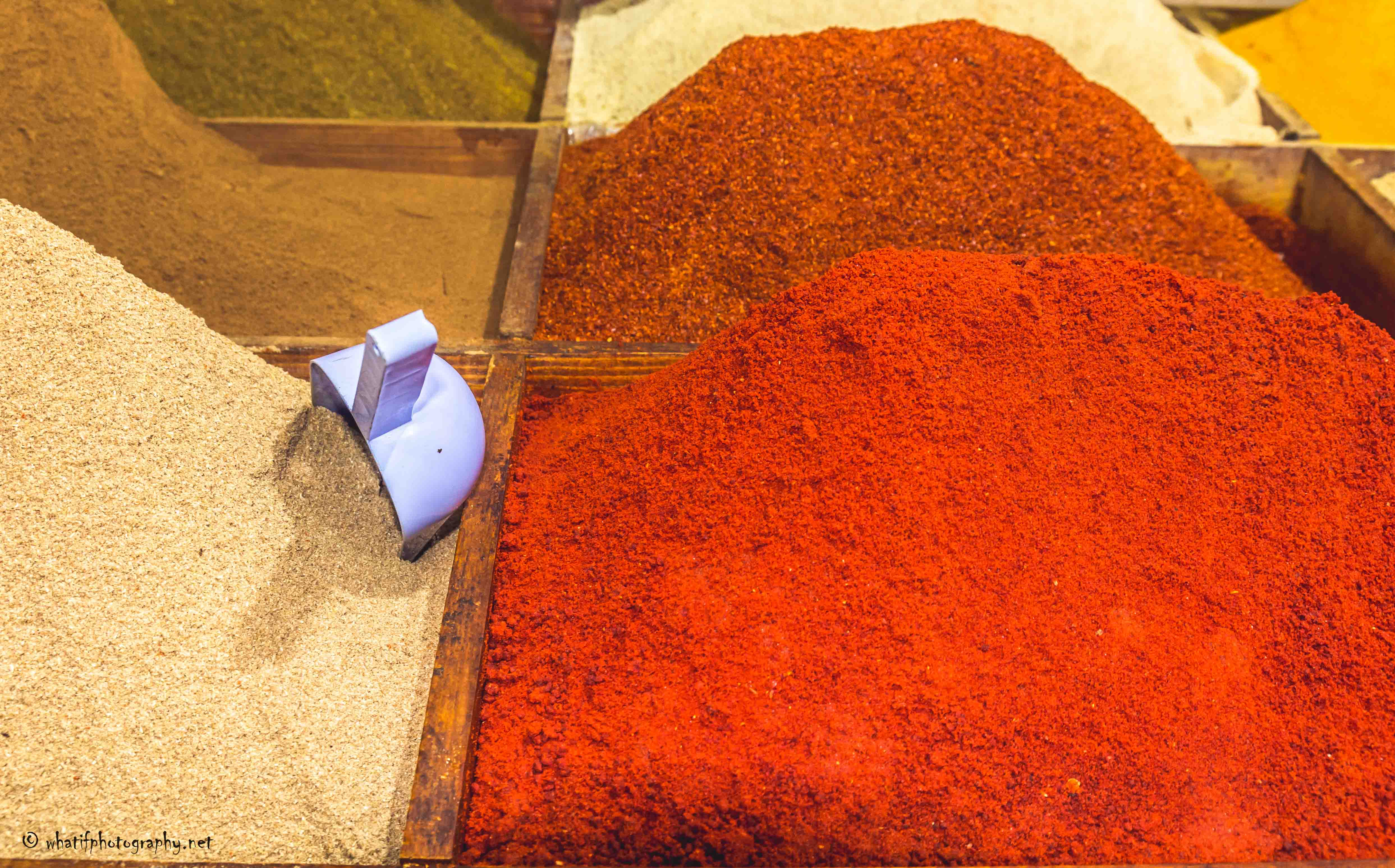 The spices of Morocco