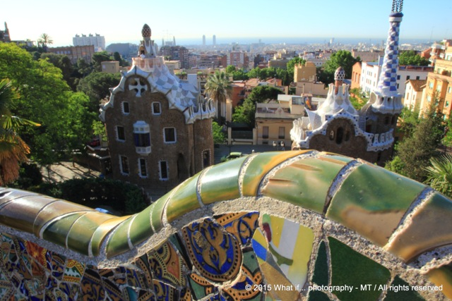 Mosaic flow of Gaudi