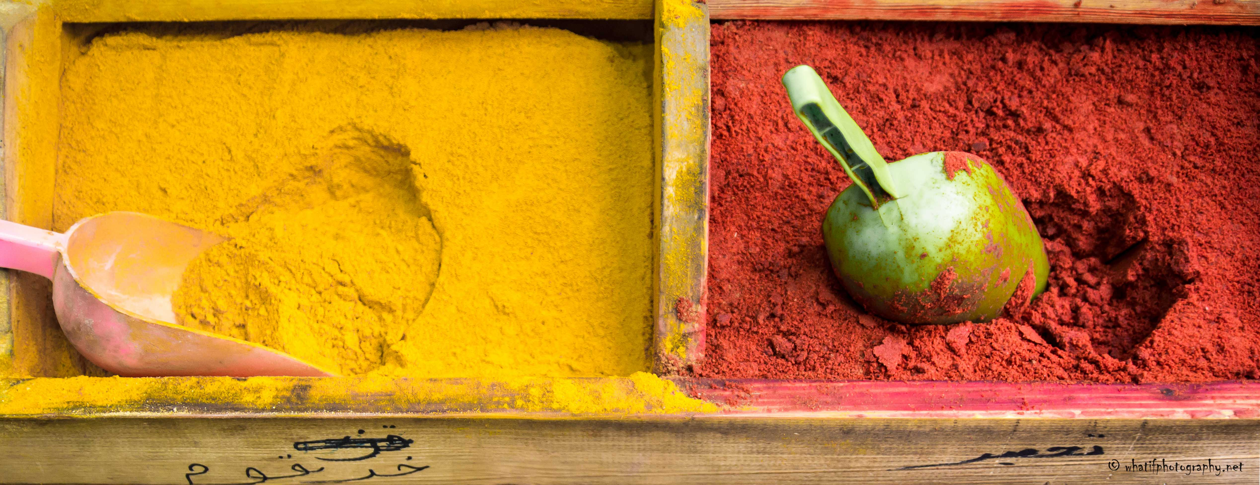 Color Of Spices