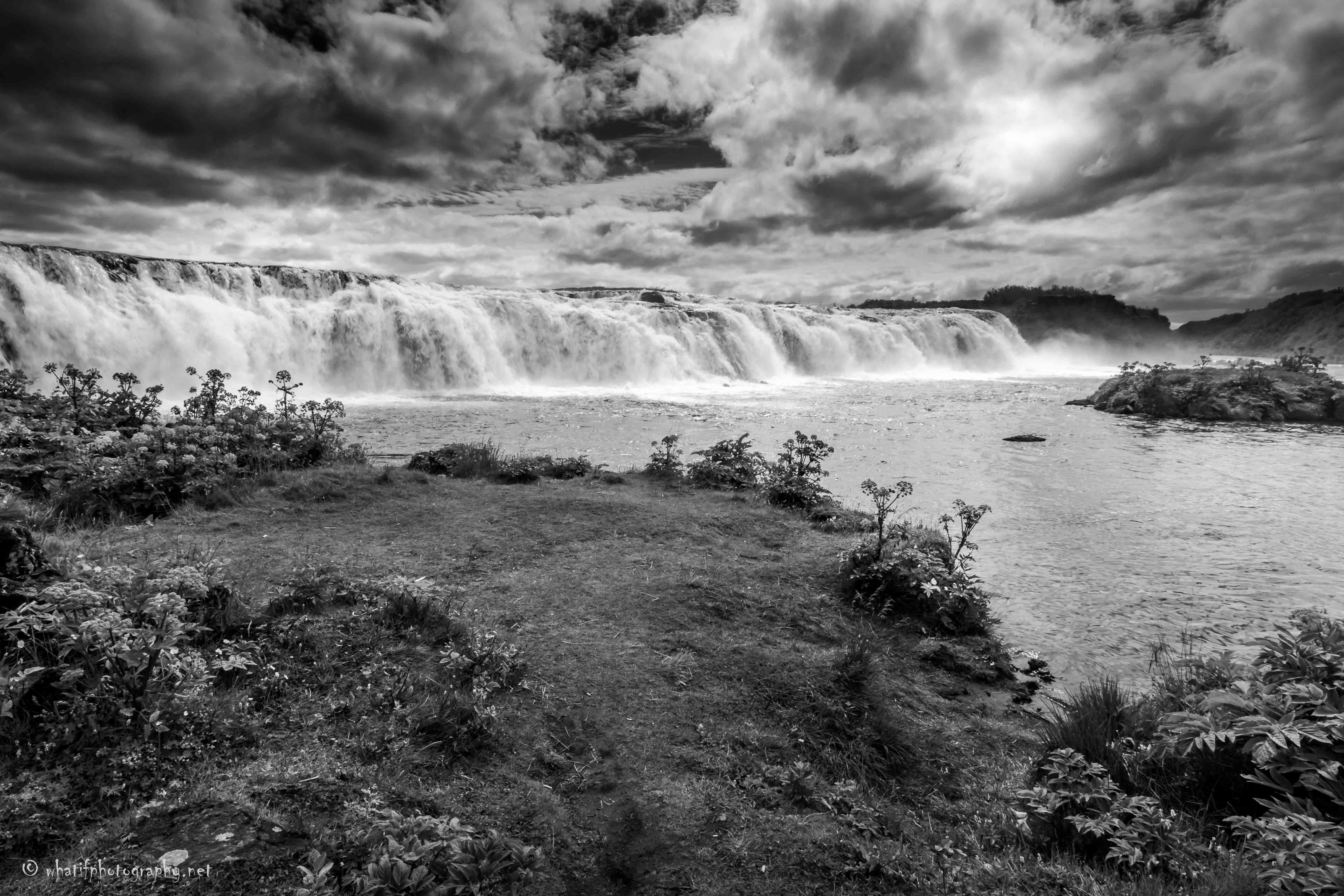 Faxi (Vatnsleysufoss) Waterfall, Iceland