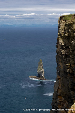 Rock in the ocean, film location Harry Potter and the half-blood prince