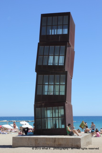 Tower on Barcelonetta beach