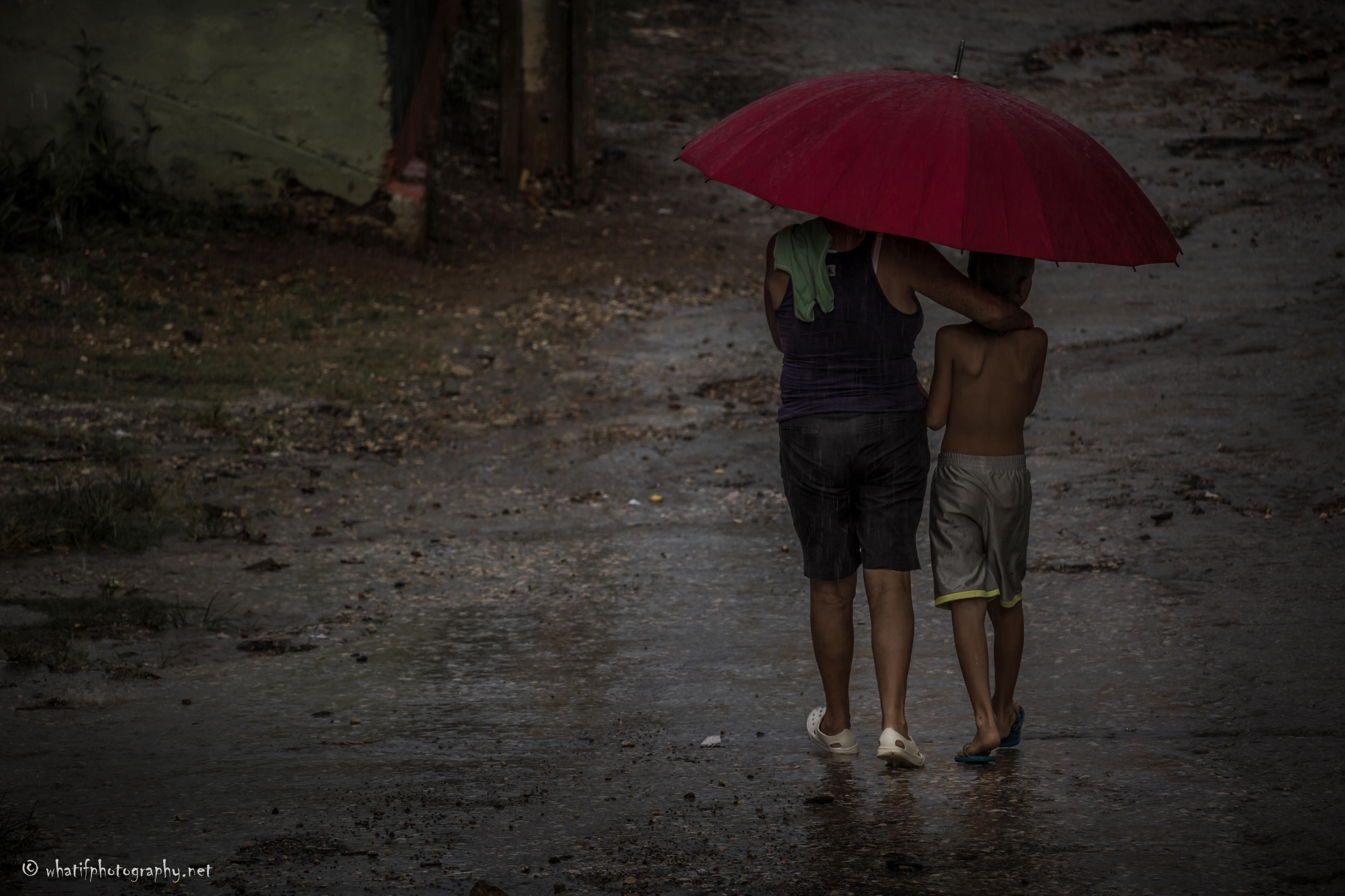 Rain doesn't stop us